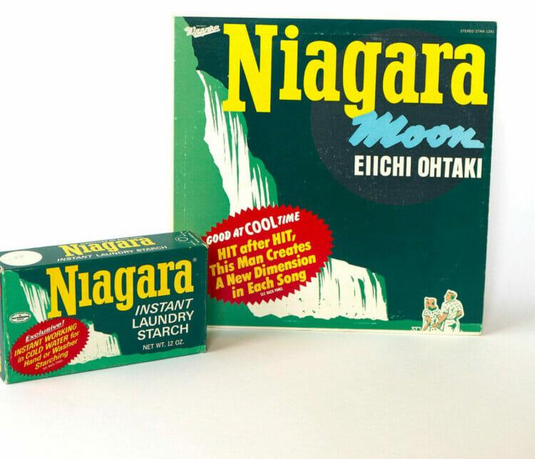 『ナイアガラ・ムーン』と粉石鹸。