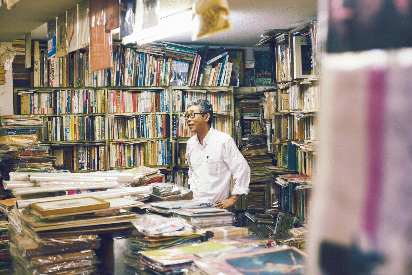この街で、古書店を営むこと。