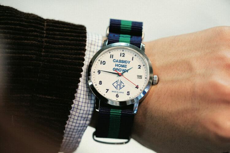 キャシディ ホームグロウンがはじめて作った時計がどこまでもオーセンティック。