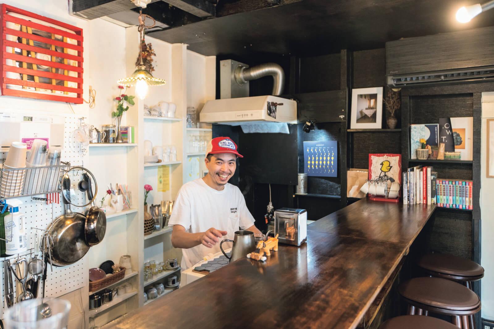 新しくオープンした上北沢の『タチアナ焙煎所』。
